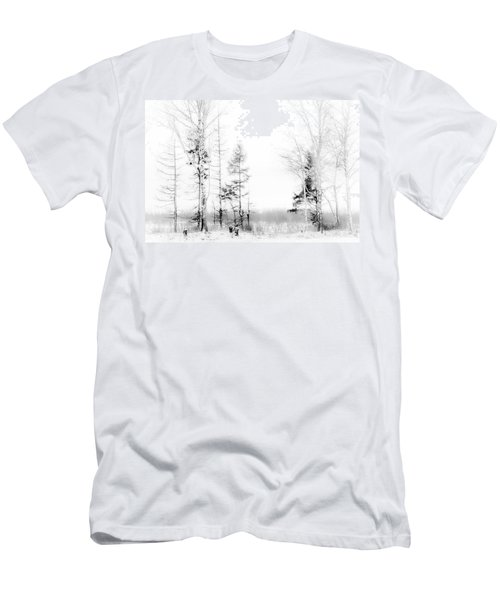 Winter Drawing Men's T-Shirt (Athletic Fit)