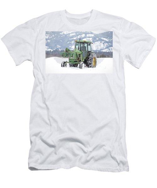 Winter Feeding Men's T-Shirt (Athletic Fit)