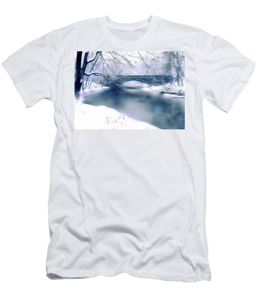 Winter Haiku Men's T-Shirt (Athletic Fit)
