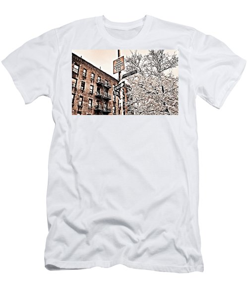 Winter In The Bronx Men's T-Shirt (Athletic Fit)