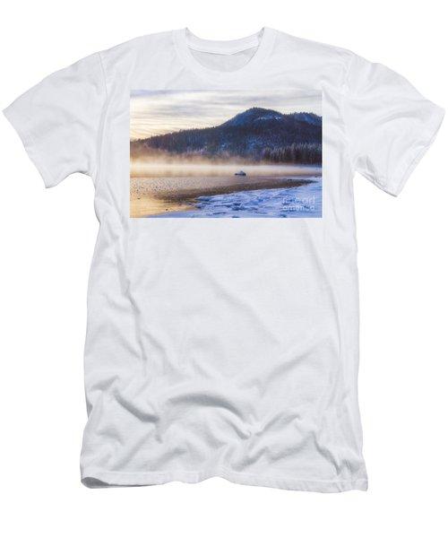 Winter Mist Men's T-Shirt (Athletic Fit)