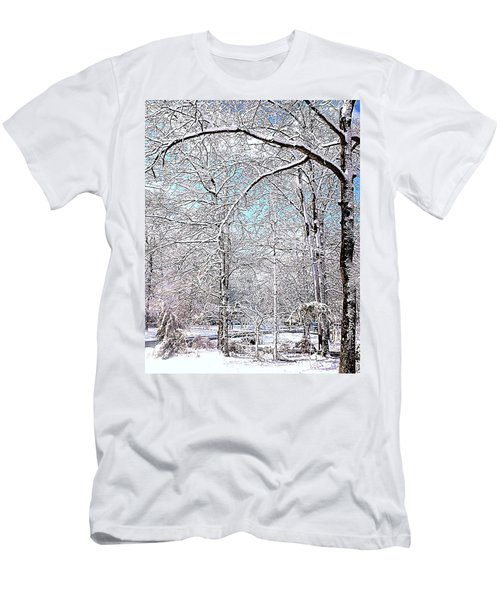 Winter On A Spring Day Men's T-Shirt (Athletic Fit)
