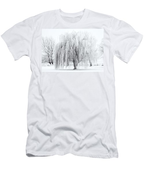 Winter Willow Men's T-Shirt (Athletic Fit)