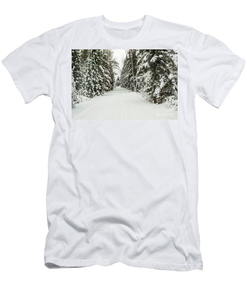Winter Wonder Land Men's T-Shirt (Athletic Fit)