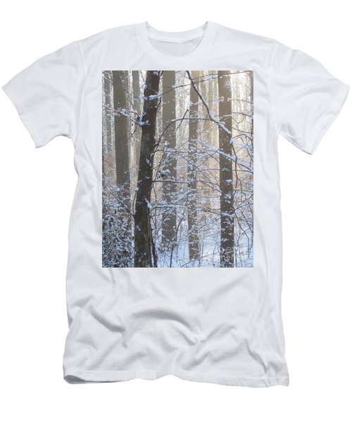 Winter Woodland Men's T-Shirt (Athletic Fit)