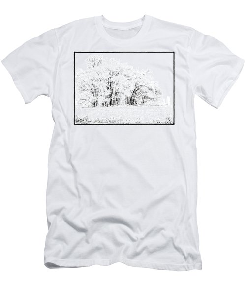 Winters Frost Men's T-Shirt (Athletic Fit)