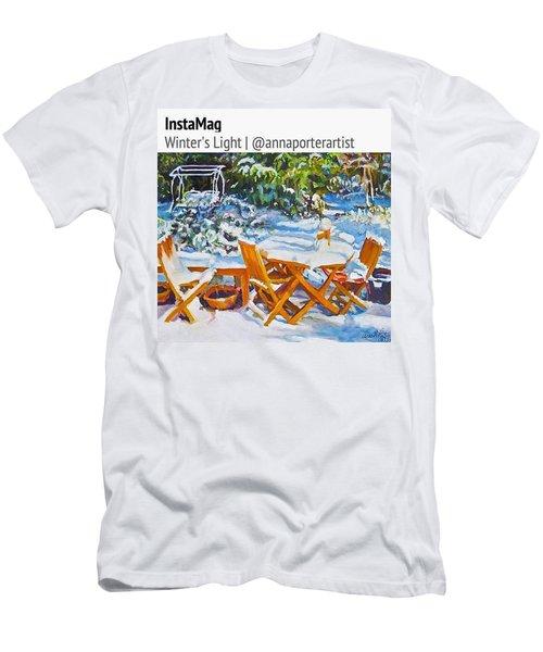Winter's Light Men's T-Shirt (Athletic Fit)
