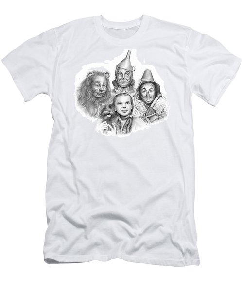 Wizard Of Oz Men's T-Shirt (Slim Fit) by Greg Joens