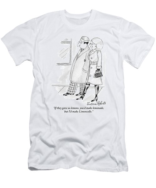 Woman To Man Men's T-Shirt (Athletic Fit)