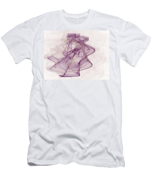 Woman With Hat Men's T-Shirt (Athletic Fit)