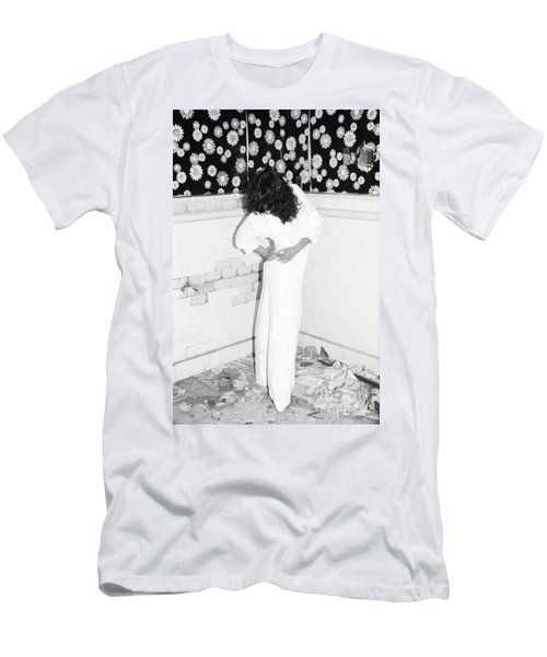 Men's T-Shirt (Slim Fit) featuring the photograph Wonder Wall by Steven Macanka