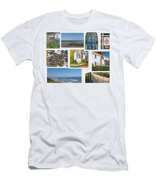 Men's T-Shirt (Slim Fit) featuring the photograph Wonderful Wellfleet by Barbara McDevitt
