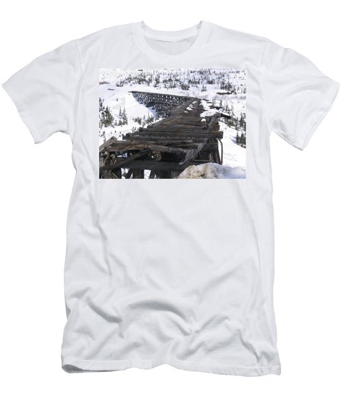 Wood Bridge Men's T-Shirt (Slim Fit) by Brian Williamson