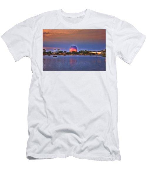 World Showcase Lagoon Sunset Men's T-Shirt (Athletic Fit)