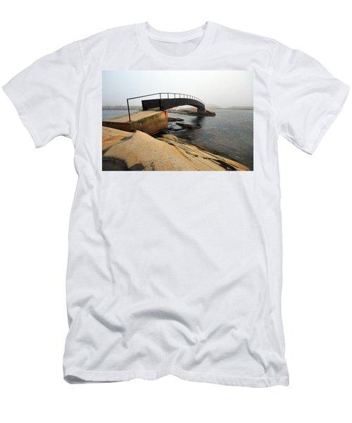 World's End 3 Men's T-Shirt (Slim Fit) by Randi Grace Nilsberg