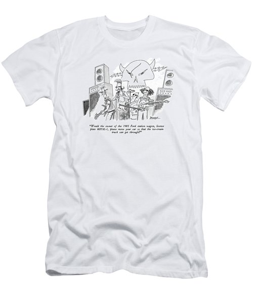 Would The Owner Of The 1985 Ford Station Wagon Men's T-Shirt (Athletic Fit)