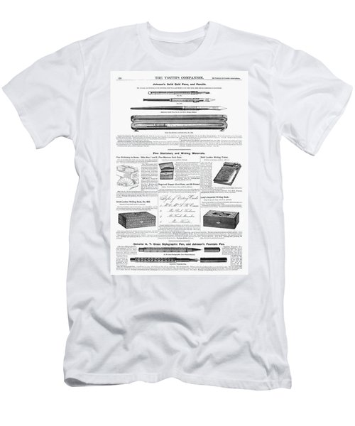 Writing Instruments, 1890 Men's T-Shirt (Athletic Fit)