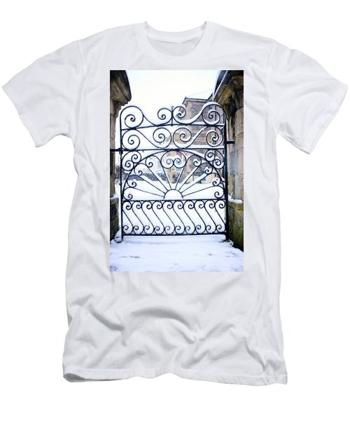 Wrought Iron Snow Men's T-Shirt (Athletic Fit)