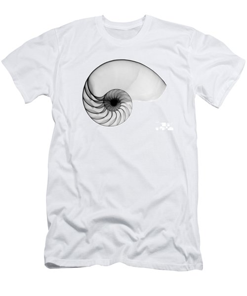 X-ray Of Nautilus Men's T-Shirt (Athletic Fit)