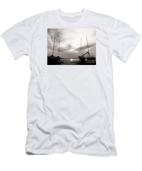 Cirrus Effect Men's T-Shirt (Slim Fit) by Amar Sheow
