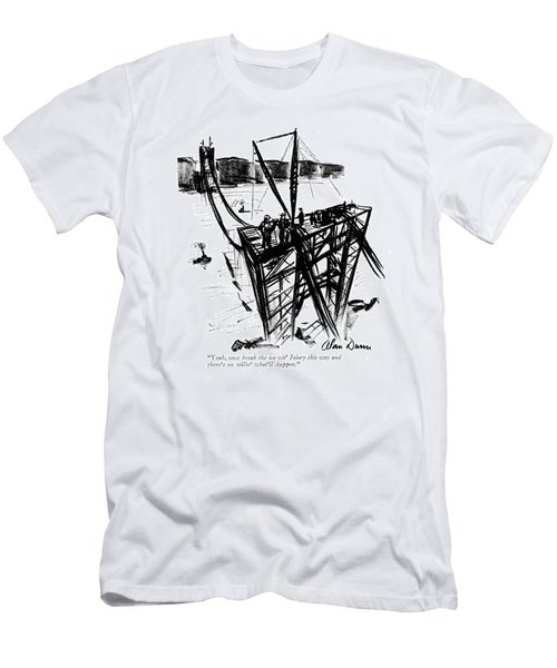 Yeah, Once Break The Ice Wit' Joisey This Way Men's T-Shirt (Athletic Fit)