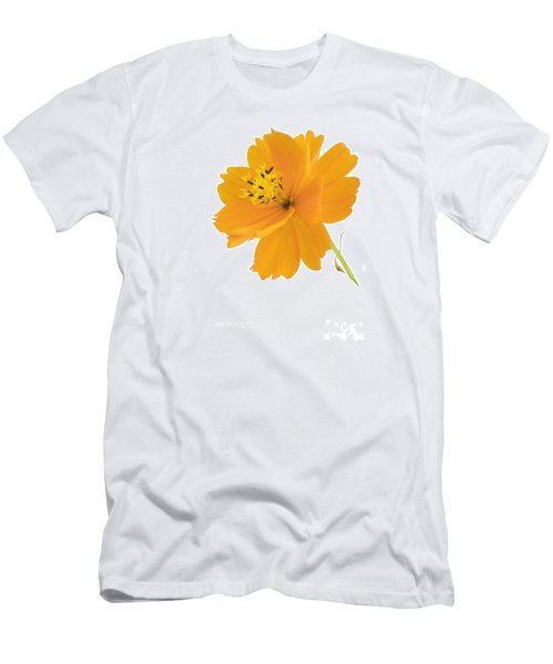 Yellow Coreopsis Men's T-Shirt (Athletic Fit)