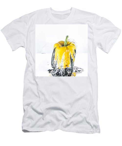 Yellow Pepper Rocket Men's T-Shirt (Athletic Fit)