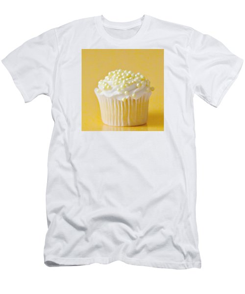 Yellow Sprinkles Men's T-Shirt (Slim Fit) by Art Block Collections