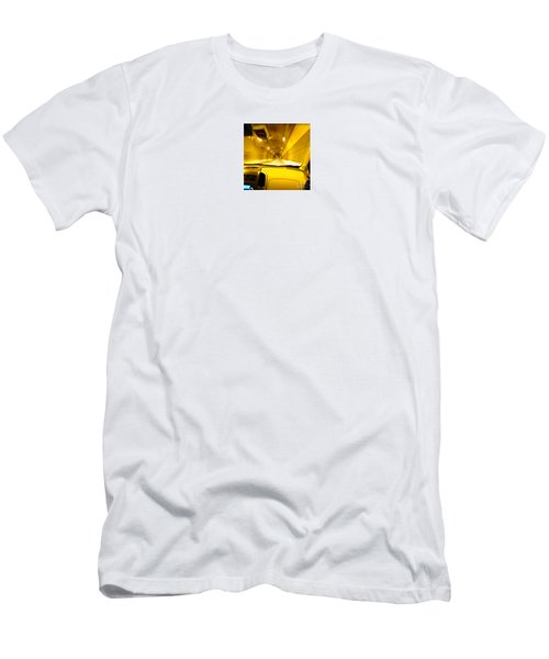 Yellow Tubes Men's T-Shirt (Athletic Fit)
