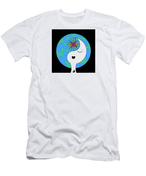 Yin Yang Crown 4 Men's T-Shirt (Athletic Fit)