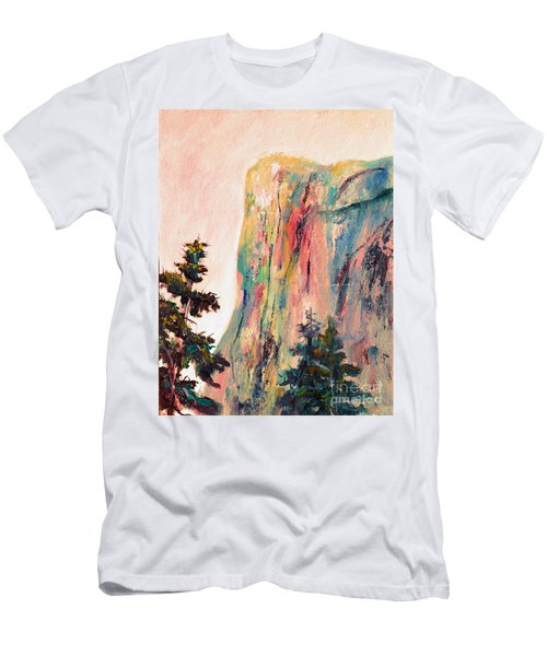 Yosemite El Capitan Men's T-Shirt (Athletic Fit)