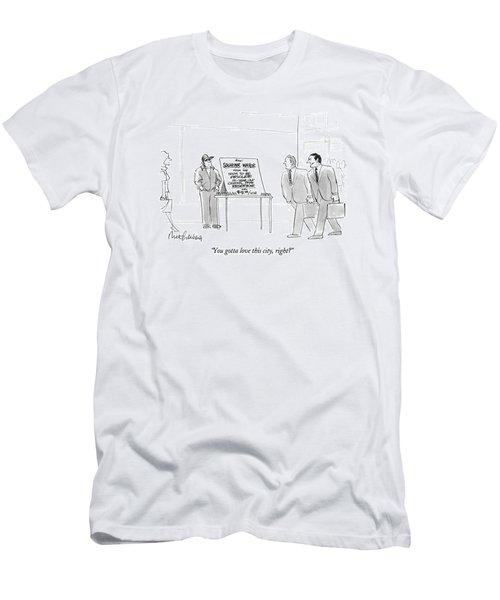 You Gotta Love This City Men's T-Shirt (Athletic Fit)
