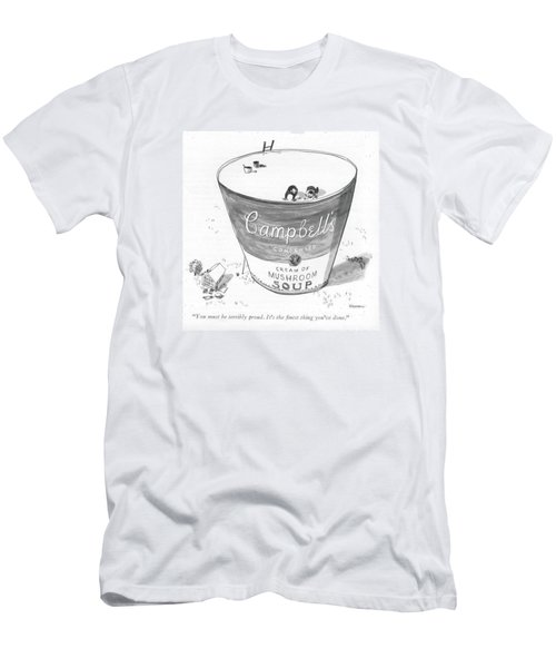 You Must Be Terribly Proud. It's The ?nest Thing Men's T-Shirt (Athletic Fit)