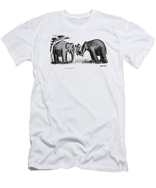 You Remembered Men's T-Shirt (Athletic Fit)