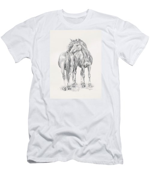 You Scratch My Back I'll Scratch Yours Men's T-Shirt (Slim Fit) by Kim Lockman