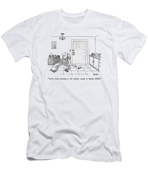 You've Been Listening To The Mellow Sound Men's T-Shirt (Athletic Fit)