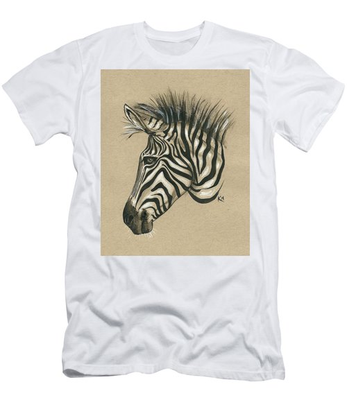 Zebra Profile Men's T-Shirt (Athletic Fit)