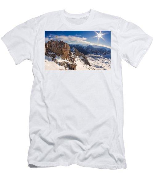 Zugspitze Summit Men's T-Shirt (Athletic Fit)