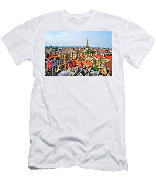 Oxford Cityscape Men's T-Shirt (Athletic Fit)