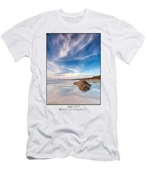 Welsh Coast - Porth Colmon Men's T-Shirt (Athletic Fit)