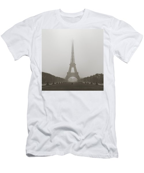 Foggy Morning In Paris Men's T-Shirt (Athletic Fit)