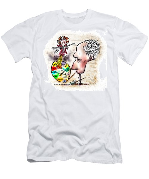 Happy Birthday Norman Rockwell Men's T-Shirt (Athletic Fit)