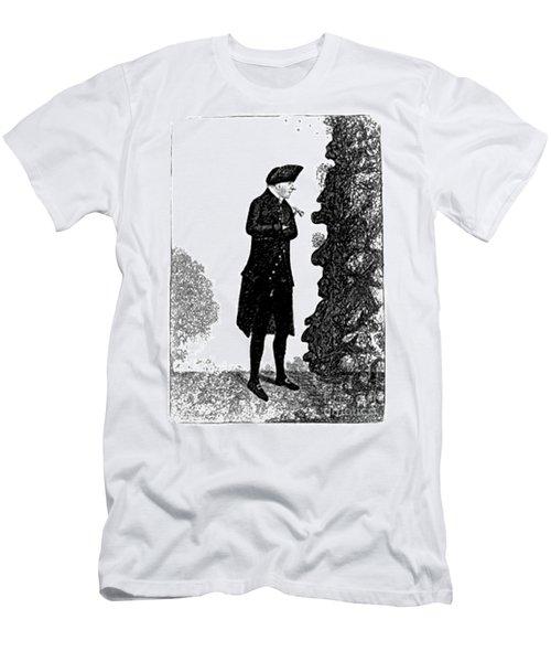 James Hutton, Scottish Geologist Men's T-Shirt (Athletic Fit)