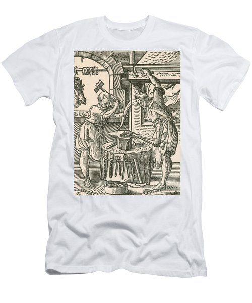The Smith, Medieval Tradesman Men's T-Shirt (Athletic Fit)