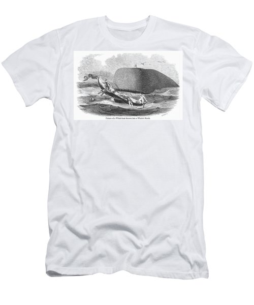 Whaling, 1850 Men's T-Shirt (Athletic Fit)