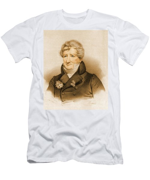 Georges Cuvier, French Naturalist Men's T-Shirt (Athletic Fit)