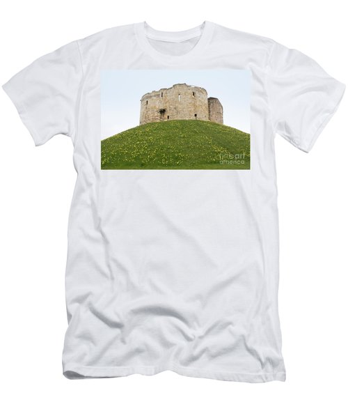 Scenes From The City Of York  Men's T-Shirt (Slim Fit) by Carol Ailles