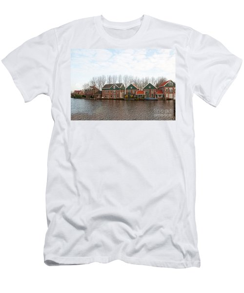 Scenes From Amsterdam Men's T-Shirt (Slim Fit) by Carol Ailles