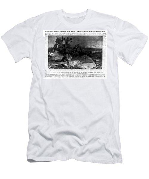 Titanic: Sinking, 1912 Men's T-Shirt (Athletic Fit)