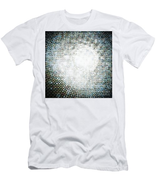 Abstract Of Circle Men's T-Shirt (Athletic Fit)